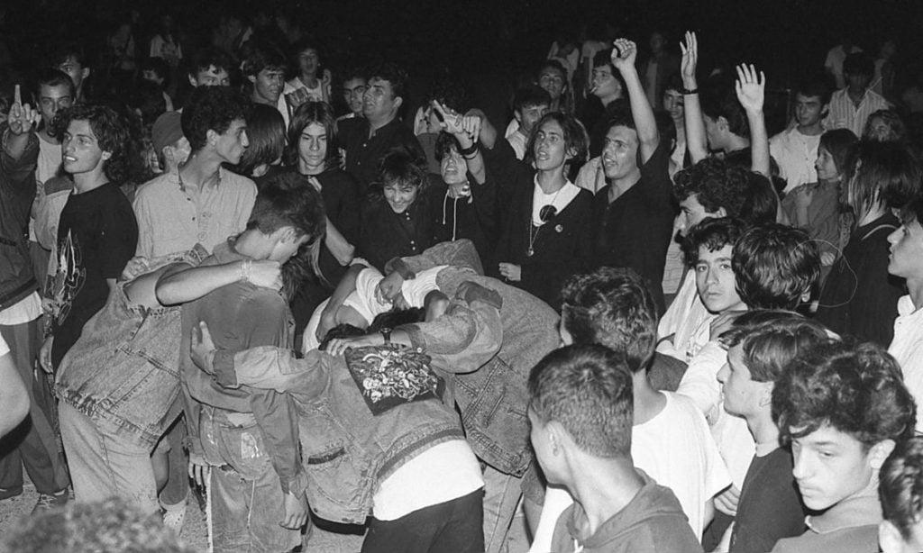 007. Из цяла България започват да се организират концерти по стадиони, фестивали, рок надсвирвания. Снимка Нели Недева-Воева