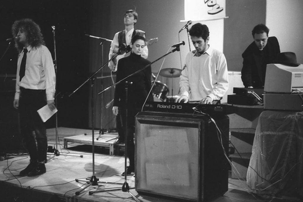 017. Групата Тутакси в зала 3 на НДК с вокалист Кембъла, вляво. Снимка Нели Недева-Воева