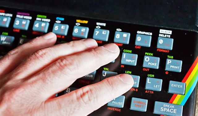 Клавиатурата на пуснатия през 1982 компютър ZX Spectrum. Фото: Алесандро Грусу @ Flickr