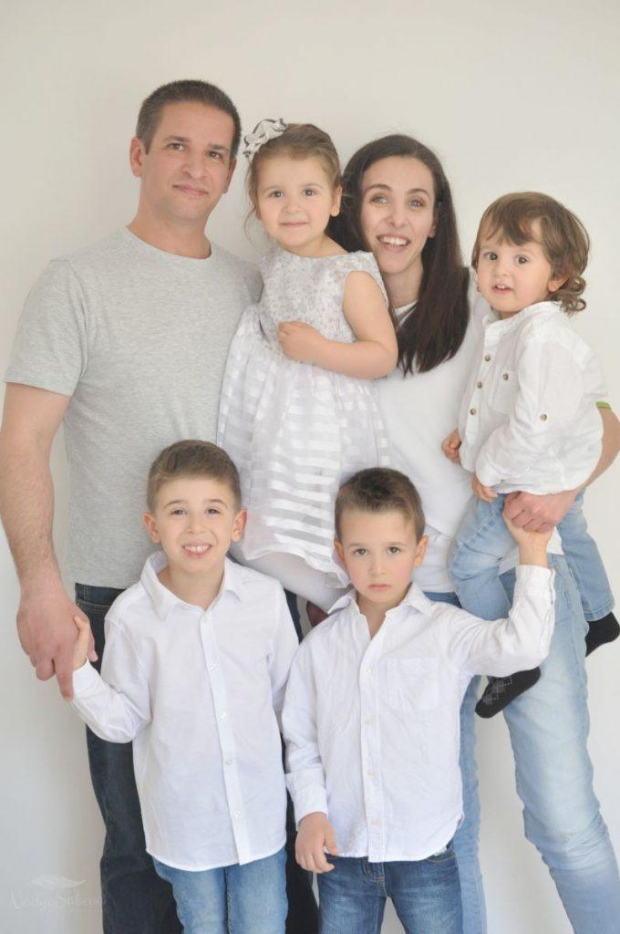 Semeystvo s 4 deca