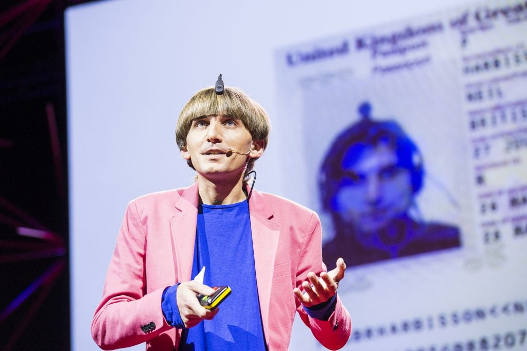 Neil Harbisson/Ted Conference/Photo: Flickr